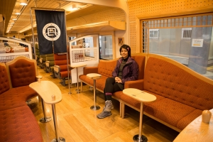 Inside Tantetsu Miyamai (Kitakinki Tango Railways)