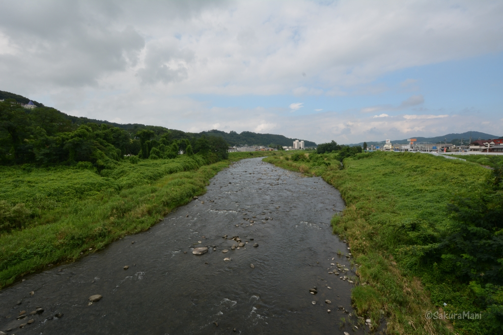 On my way to Darumaji temple crossed this swift river, stood there for sometime to enjoy this view