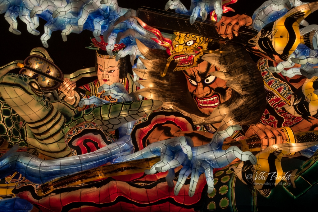 Nebuta Floats