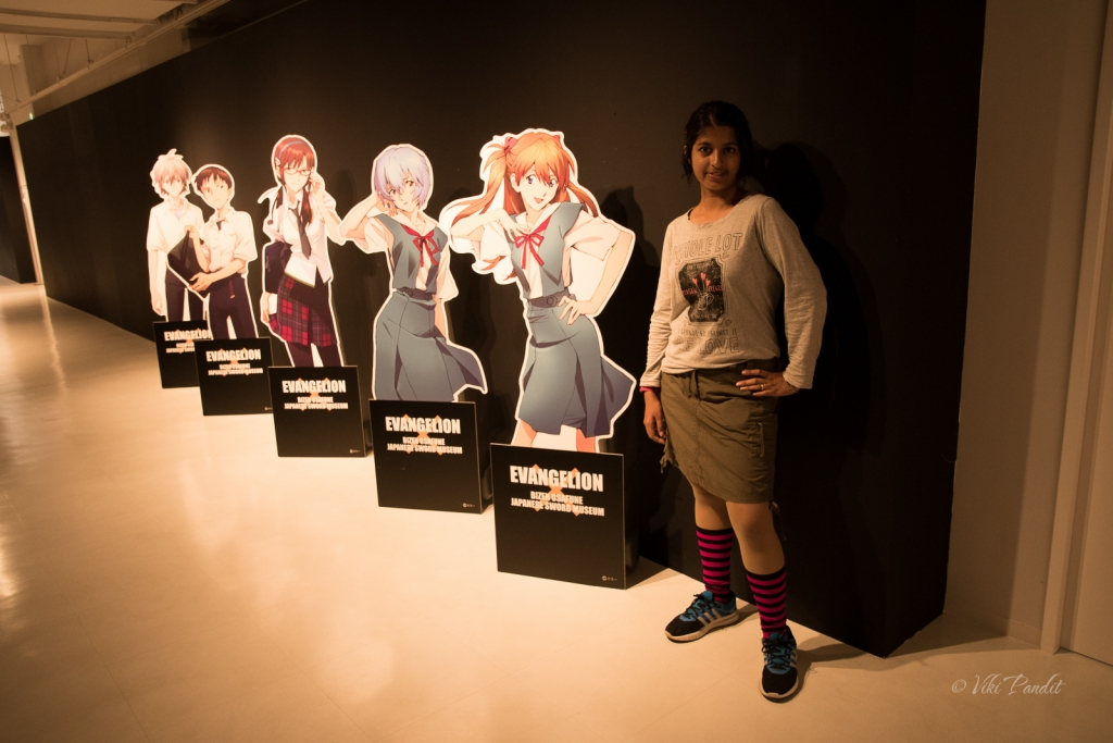 Evangelion exhibition at Niigata Manga and Anime Museum