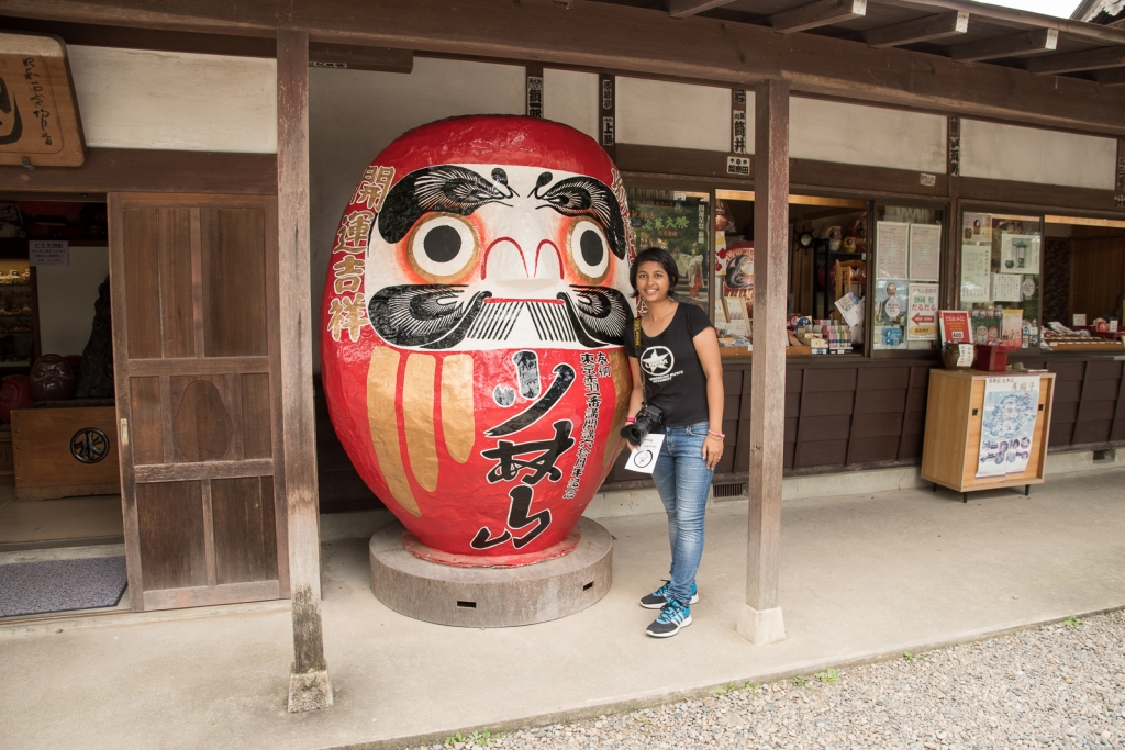 A daruma doll at Darumaji temple
