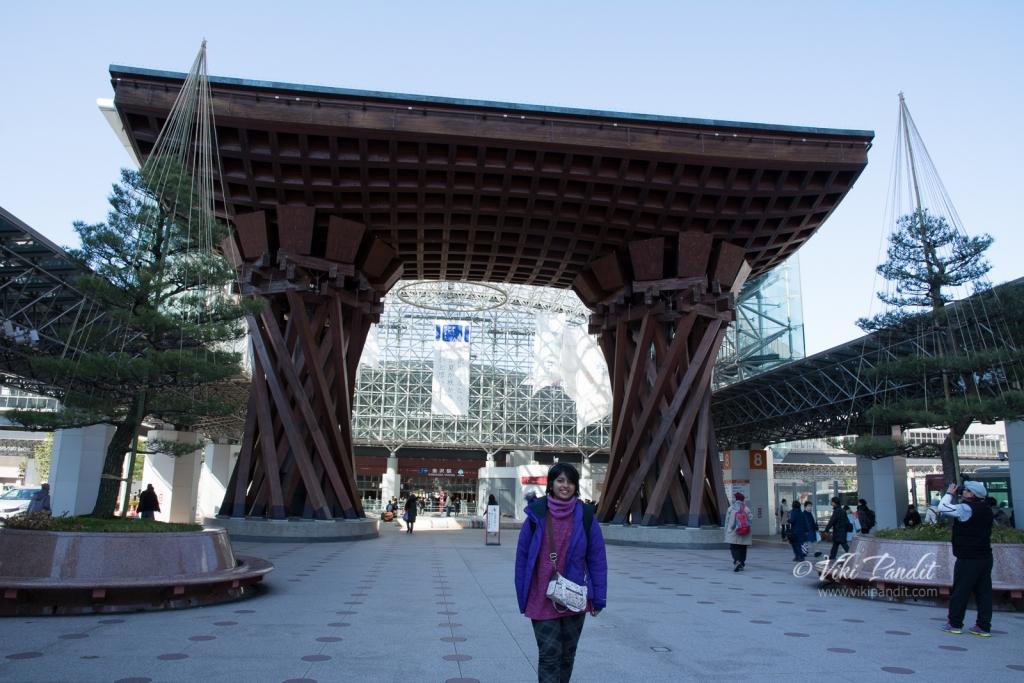 At Kanazawa Station